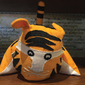 Pillow Tiger - Orange
