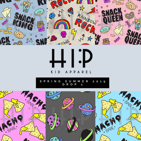Spring Summer 2019 Collection Hip Kid Apparel
