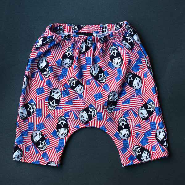 American Badass Harem Shorts - READY TO SHIP