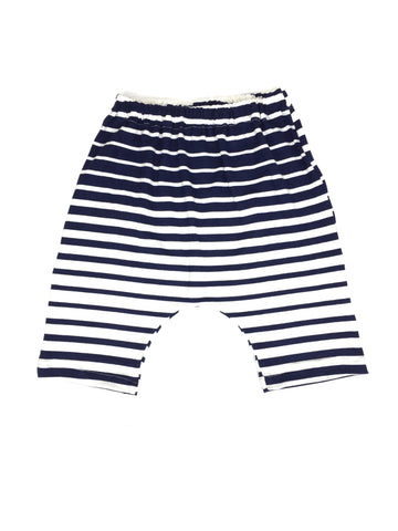Nautical Navy Stripe Harems-Bottoms-Hip Kid Apparel-kids graphic t-shirts-kids graphic tees-modern kids clothes-trendy shirts for kids-unisex kids shirts-for-boys-girls
