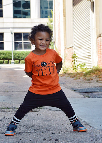 Is it Halloween Yet? - Orange Halloween Kids Tee Shirt