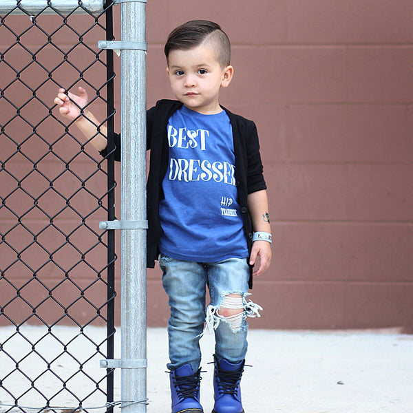 Best Dressed-Tee Shirts-Hip Kid Apparel-kids graphic t-shirts-kids graphic tees-modern kids clothes-trendy shirts for kids-unisex kids shirts-for-boys-girls