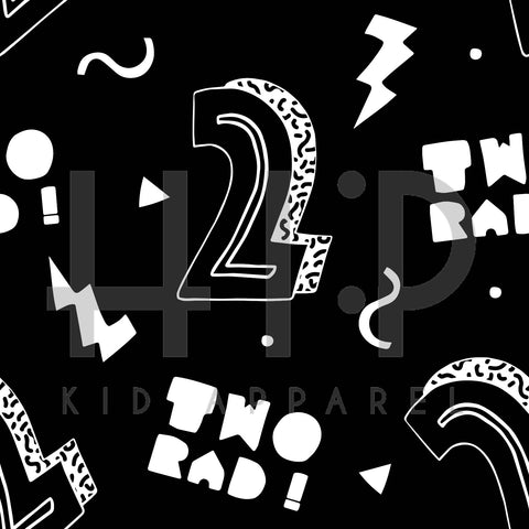 Two (2) Rad Print - Kids Birthday Collection