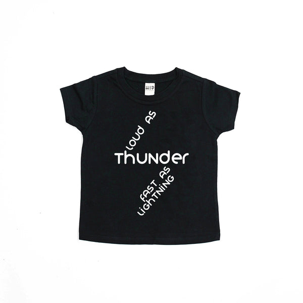 Thunder and Lightning Tee Shirt - PREORDER