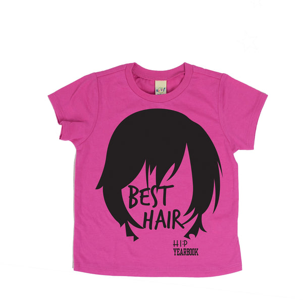 Best Hair.-Hip Kid Apparel-kids graphic t-shirts-kids graphic tees-modern kids clothes-trendy shirts for kids-unisex kids shirts-for-boys-girls