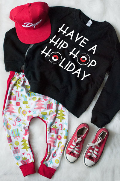 Christmas Essentials Holiday Harems - Red on the backside *PANTS ONLY