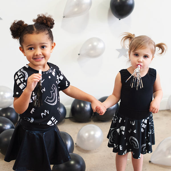 3 Wild and Free Print - Kids Birthday Collection