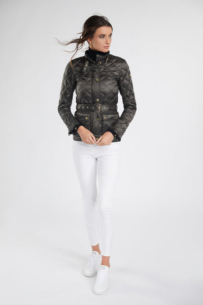 Heritage Quilted Jacket in Khaki
