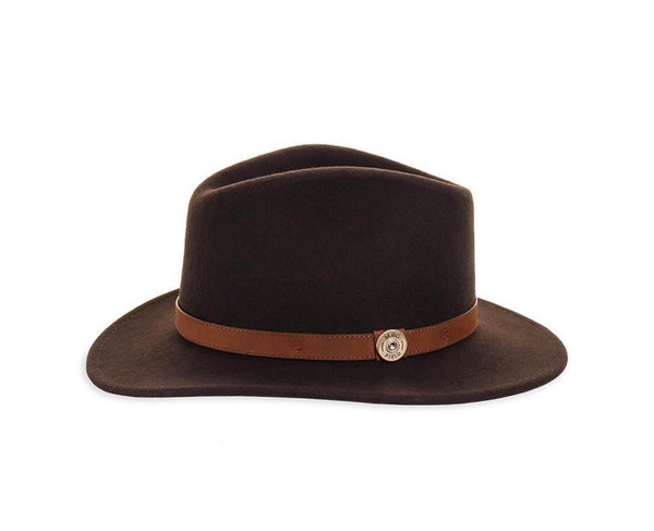 Felt Fedora - Brown