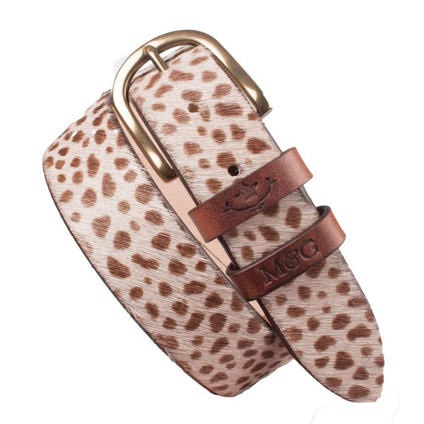 Tetbury Dotty Cowhide Leather Belt