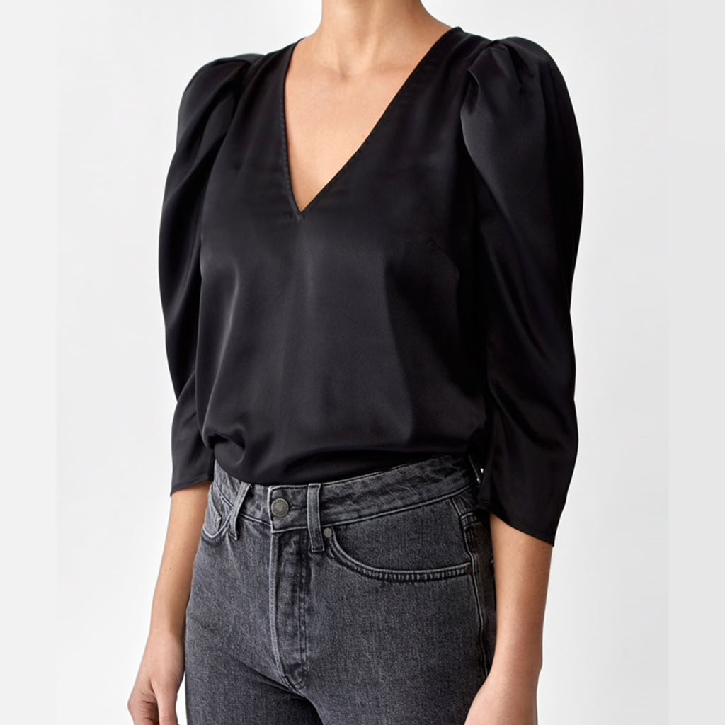 Twist and tango black blouse