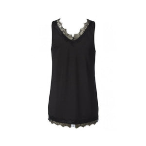 Rosemunde Billie top black back