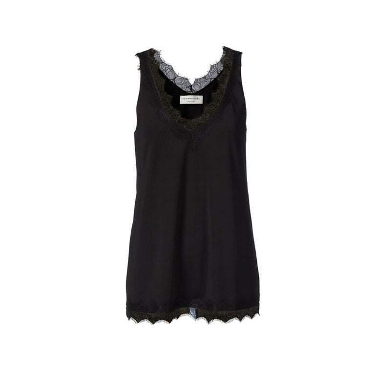 Rosemunde billie top black front