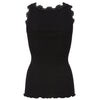 Rosemunde Black silk lace top back