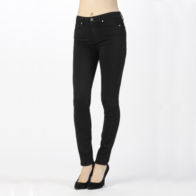 Paige Hoxton Ultra Skinny Black Shadow Front