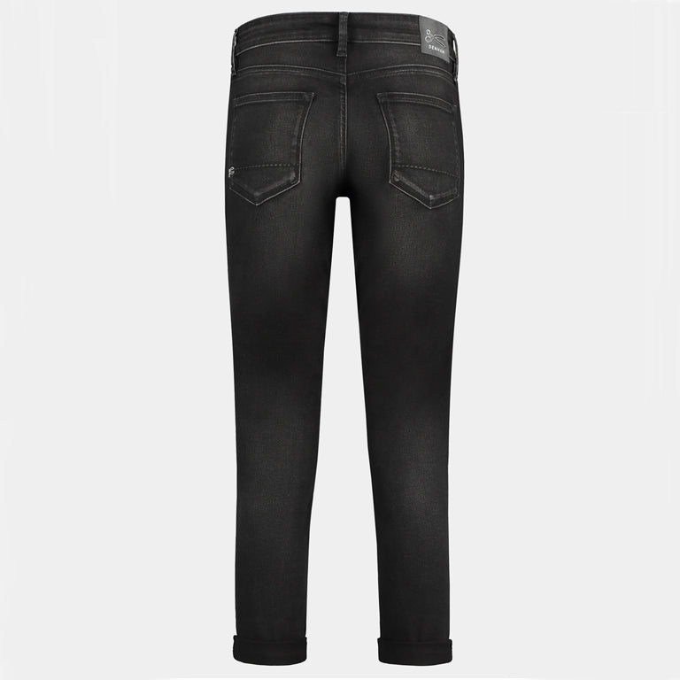 Monroe Girlfriend Tapered Jeans - Paris
