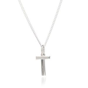 Rachel Jackson London Silver T Initial Necklace This Is Me
