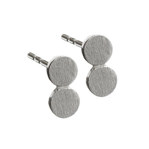 Scherning Silver Dot Earrings