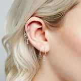 This Is Me Hoop Earring - Gold - A