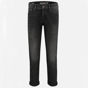 Monroe Girlfriend Jeans in Paris Black by Denham