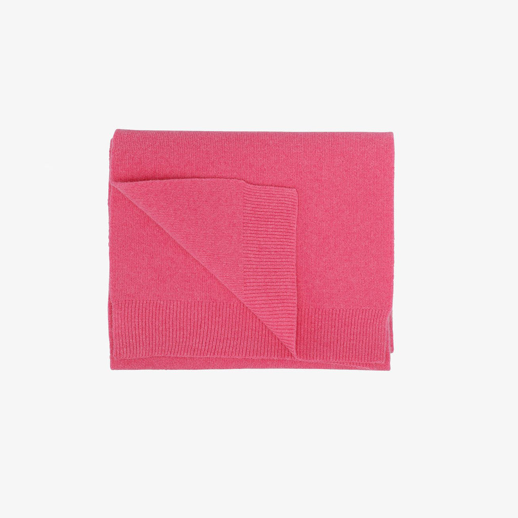Merino Wool Scarf in Bubblegum Pink by Colorful Standard
