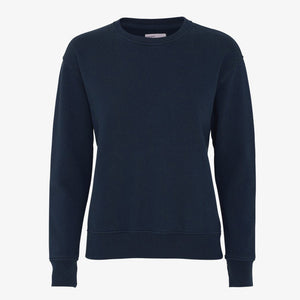 Organic Cotton Navy Sweater by Colorful Standard