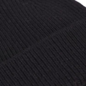 Colorful Standard beanie in Black