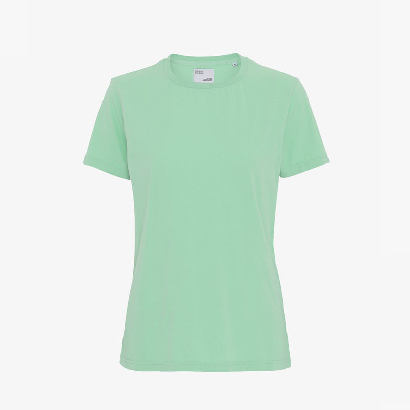 Faded Mint Organic Cotton tee by Colorful Standard