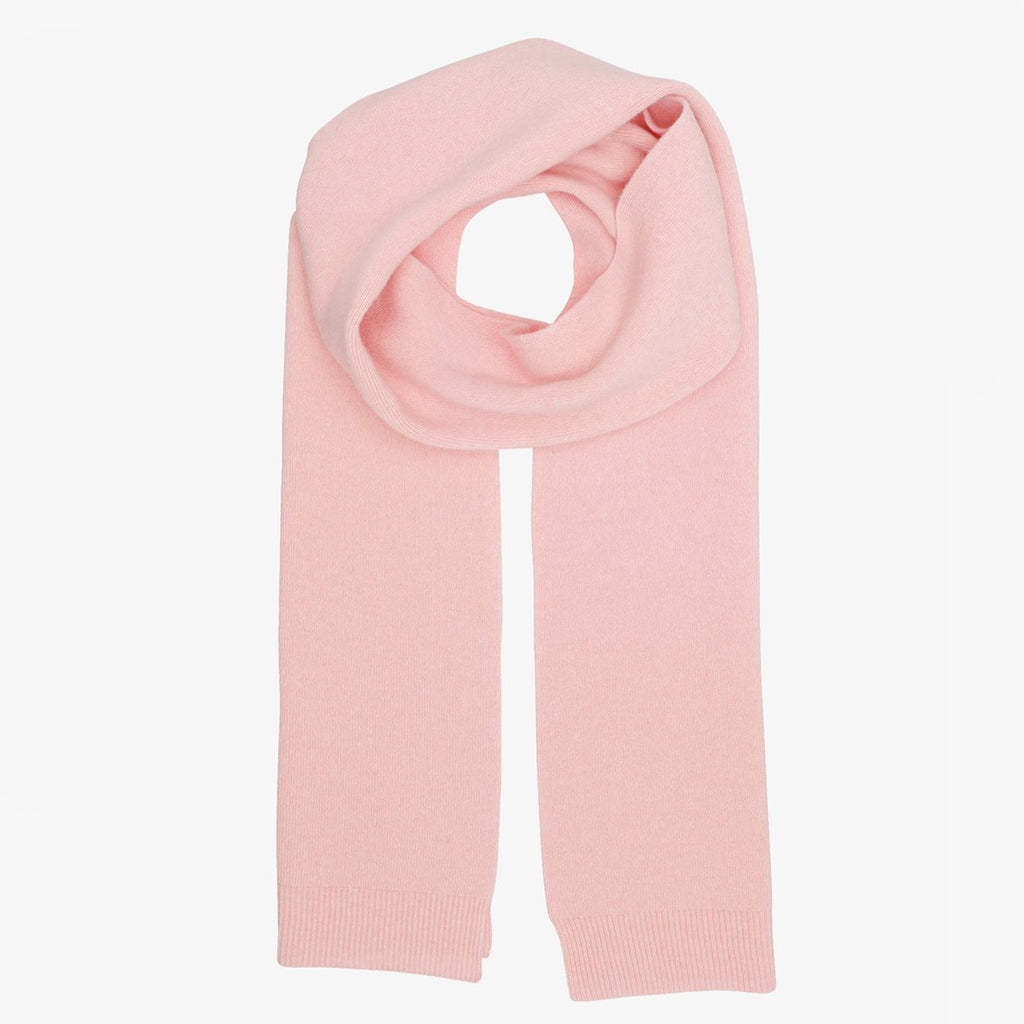 Colorful Standard Merino Scarf in Faded Pink