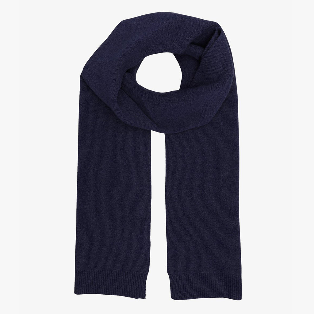 Colorful Standard Merino Scarf Navy Blue