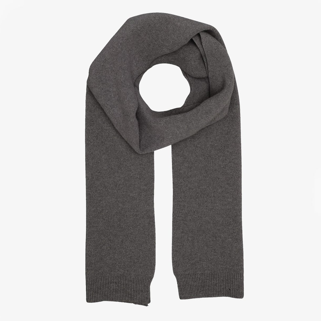 Merino Wool Scarf in Lava Grey by Colorfuk Standard