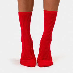 Colorful Standard Classic Organic Socks - Scarlet Red