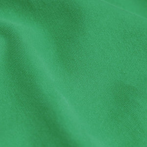 Close up ofKelly Green Women's Organic Tee by Colorful Standard