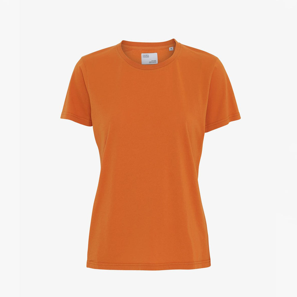Sunny Orange Women's Organic tee by Colorful Standard