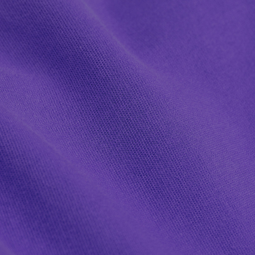 Close up of Ultra Violet Women's Organic Tee by Colorful Standard