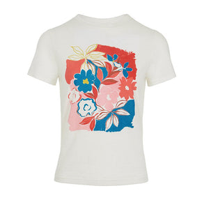 Product Shot of Asilah print Tee by Emily and Fin