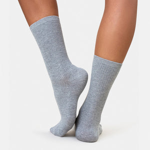 Heather Grey Colorful Standard sock