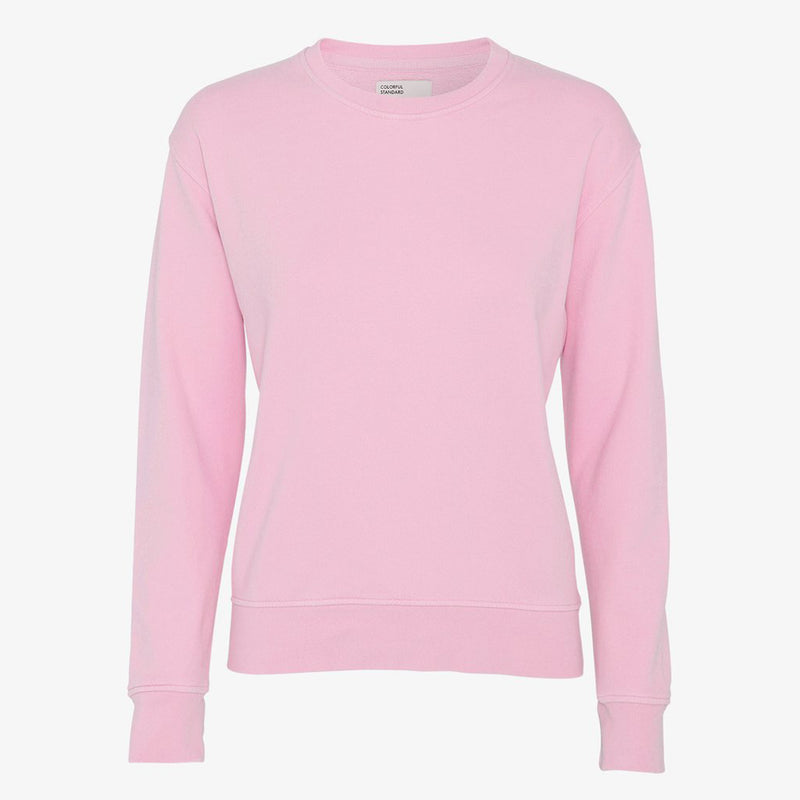 Flamingo Pink crew neck sweater by Colourful Standard