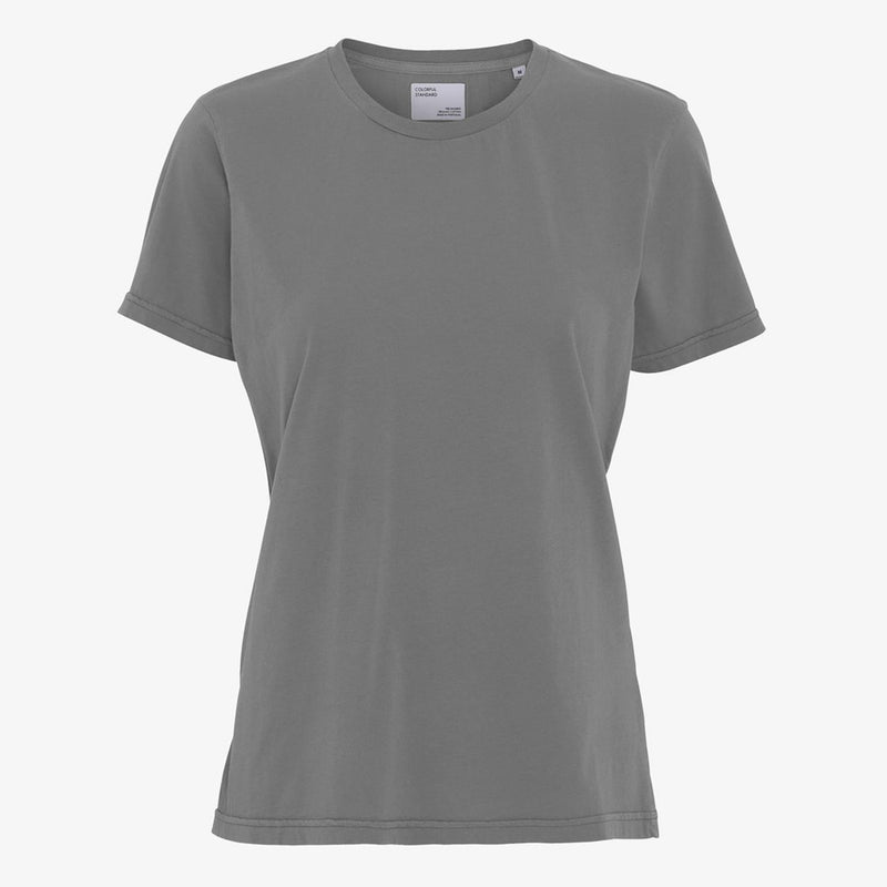 Colorful Standard light women's tee in Storm Grey
