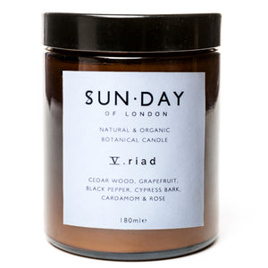 Riad candle by Sun.Day