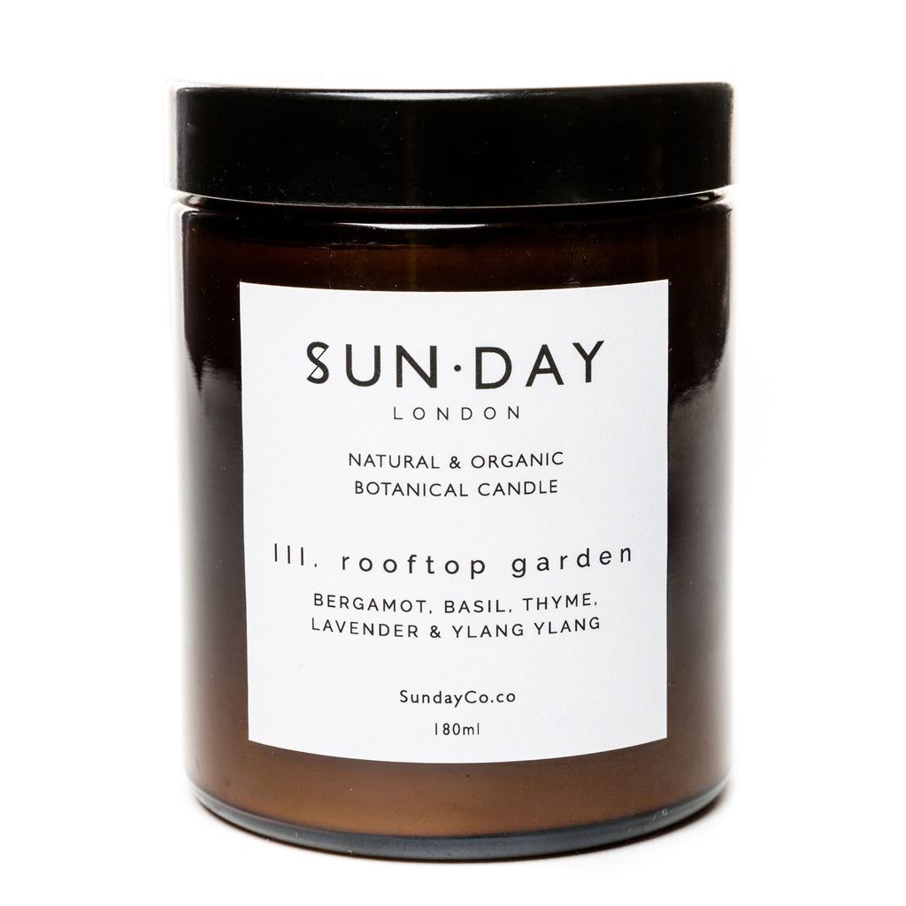 Rooftop Garden candle by Sun.Day