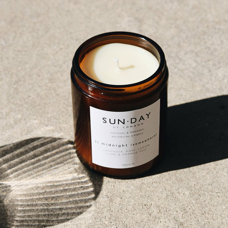 Sun.Day Midi candle in Midnight Scent