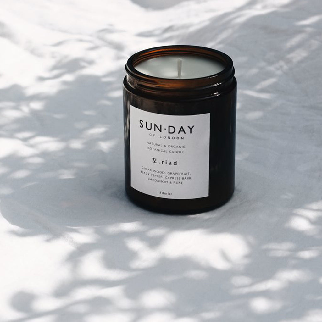 Sun.Day of London Midi 180ml Candle - V. Riad