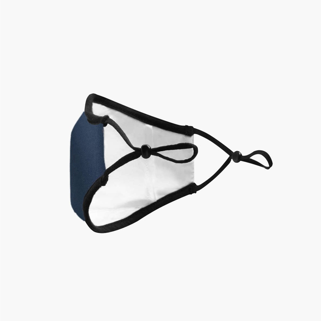 Navy Junior Face mask by BREATHE