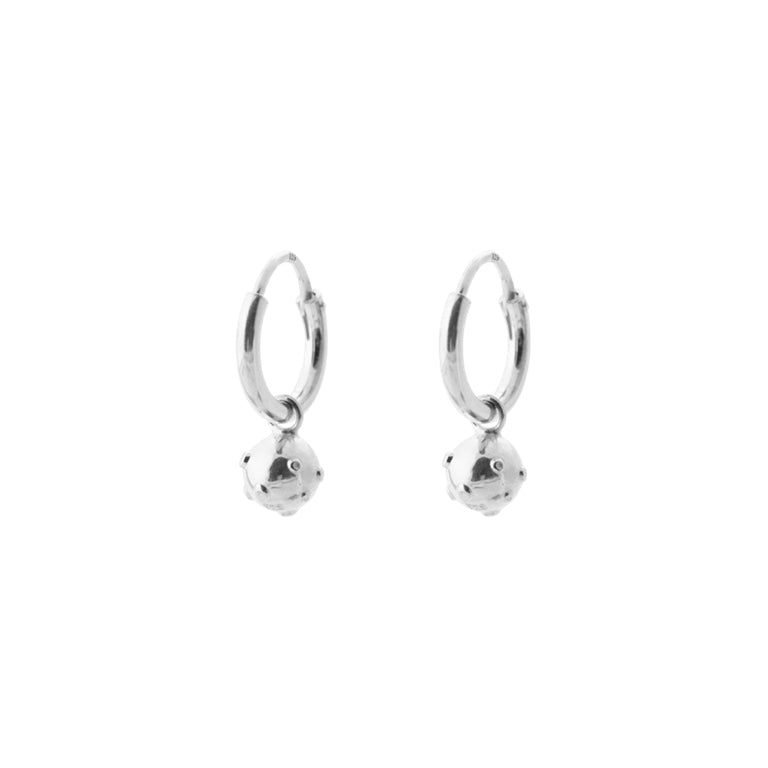 Moonscape Earring - Silver