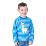 Applique Llama Boy's T-Shirt