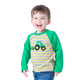 Boy's Applique Tractor T-Shirt