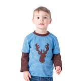 Applique Deer Boy's T-Shirt