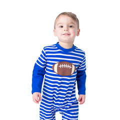 16F20 Football Applique Boy's Romper