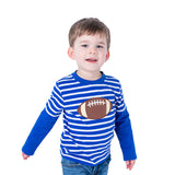 Applique Football Boy's T-Shirt